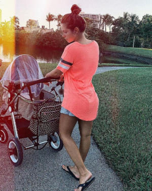 Нюша показала фото после родов.