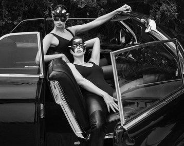 Ирина Шейк в горячей фотосессии для Vogue.