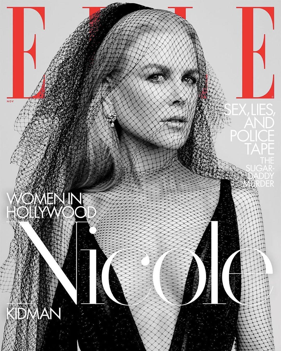 Николь Кидман одна из лауреатов премии Woman in Hollywood 2019.