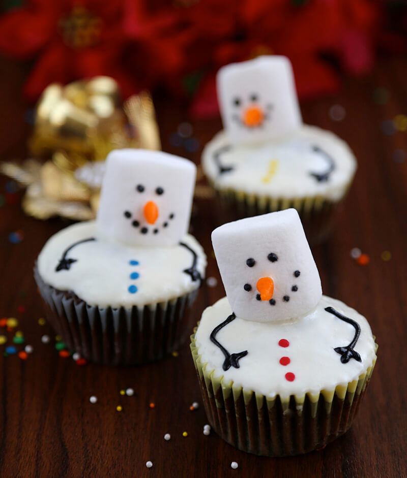 """""""Тающий снеговик"""" - оригинальное новогоднее лакомство."""