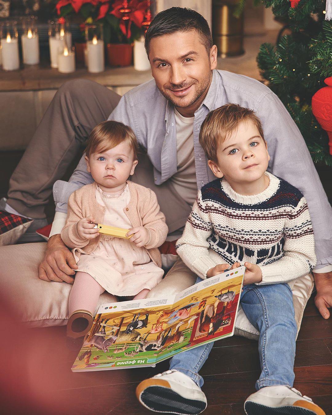 Сергей Лазарев поделился уникальными снимками с детьми.